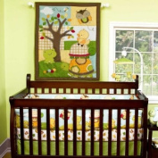 Forest Critters 5 Piece Baby Crib Bedding Set by Step by Step