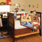 Jungle 123 8 Piece Baby Crib Bedding Set by Kidsline