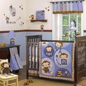 Monkey Mania 8 Piece Baby Crib Bedding Set