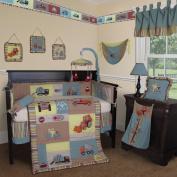 Custom Baby Bedding - Construction Zone 15 PCS Crib Bedding