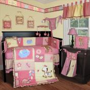 Custom Baby Bedding -Jungle Animal 15 PCS Crib Bedding
