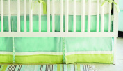 New Arrivals Sprout Crib 2 Piece Crib Bedding Set, Green