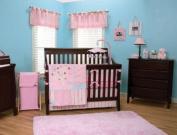 Baby Paradise Dreams  7 Pc Complete Crib Bedding Set
