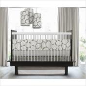 Oilo Cobblestone Standard Crib Set, Taupe