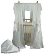 Mini Bride Round Crib Bedding