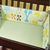 ABC 123 Cotton Crib Bumper