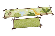 Little Bedding Traditional Padded Bumper, Jungle Time