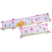 Disney - Winnie the Pooh Sweet as Hunny Baby Bumper Accessory Pink with Purple Green Accents