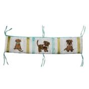 One Grace Place 10-33012 Puppy Pal Boy Crib Bumper
