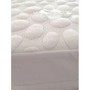 My Little Nest Pebbletex Natural Tencel Quilted Waterproof Mattress Pad, Crib