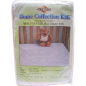 Abstract Home Collection Waterproof Quilted Crib Mattress Pad 28x52