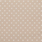 Circo Dot Crib Sheet - White/ Brown
