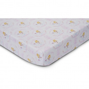 Disney Baby Cinderella 100% Cotton Fitted Crib Sheet