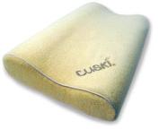 Cuskiboo Kids Pillow, Creamee