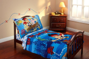 Disney Jake and the Neverland Pirates 4 Piece Bedding Set - Toddler