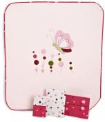 Lambs & Ivy Raspberry Swirl 4-Piece Toddler Set