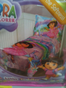 Dora Fairy Princess Satin Toddler Bedding
