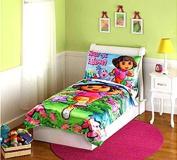 Dora Satin Toddler Bedding Set