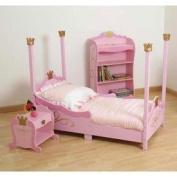 Pretty Pique Toddler Bedding - Colour Pink
