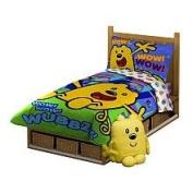 Wow! Wow! Wubbzy! 4-Piece Toddler Bedding Ensemble