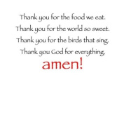 Thank You God for Everything Bib