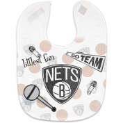 NBA Brooklyn Nets Full Colour Mesh Baby Bib