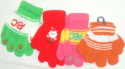 Set of Four Pairs of Magic Stress Gita Gloves for Infants Ages 0-24 Months