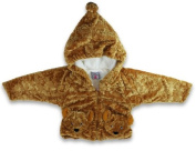 Fuzzy Wear Brown Bear Jacket w/Hoodie 12-18mo.