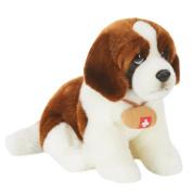 Toys R Us Plush 25.4cm St. Bernard Dog - Brown and White