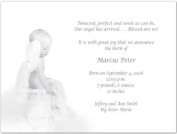 Heavenly Baby Birth Announcements - Set of 20