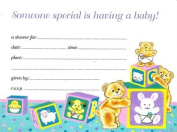 Baby Shower Invitations - 16 Cnt.