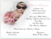 Marilyn Baby Shower Invitations - Set of 20
