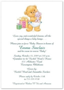 Bearing Gifts Baby Shower Invitations - Set of 20