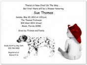 Backdraft Baby Shower Invitations - Set of 20
