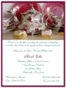 High Tea Baby Shower Invitations - Set of 20