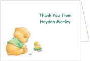 Playtime Baby Thank You Cards - Set of 20