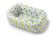 Mommy's Helper Inflatable Bath Tub Froggie Collection White/green 6-18 Mo... New
