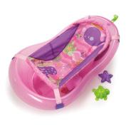 Fisher-Price Pink Sparkles Bath Tub Bath Room Body Wash Baby Infant & Kids Bathe Safety Tub