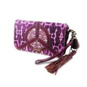 """Clutch bag """"Ed Hardy"""" purple."""