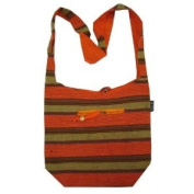 Shinning Lurex Heavy Cotton Bohemian / Hippie Sling Crossbody Bag India