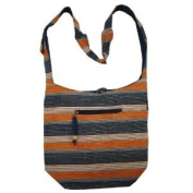Lurex Heavy Cotton Bohemian / Hippie Sling Crossbody Bag India
