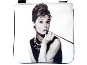 Audrey Hepburn Retro Breakfast at Tiffany's Sling Cross Body Bag Purse