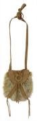 Lucky Brand Taluca Lake Mini Faux Fur Crossbody Handbag Rust
