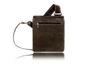 Visconti Alex Contemporary Distressed Oiled Leather Handbag Made of Quality Brown Leather 18570