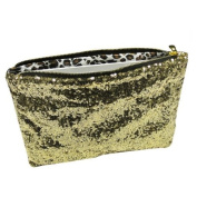 Wrapables Sequined Fashion Party Bag - Gold