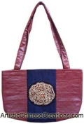 Chinese Apparel / Chinese Clothing & Accessories - Embroidered Chinese Handbag