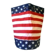 Stars And Stripes Draw String Tote Bag - USA Tote Bag - United States Flag To...