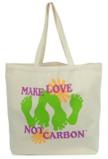 Make Love not Carbon Reuseable Shopping Tote.