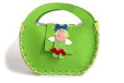 Laura felt handbag or handbag