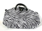 NF1ZEP - Zebra Print Small Fold-Up Bag
